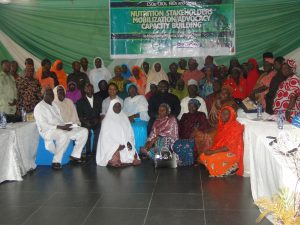 Cross section of participants at the Niger Sensitization and Mobilization CSOs