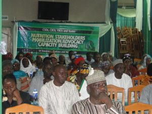 Cross Section of Participants at the Kaduna Sensitization and Mobilization of the CSOs and State Actors